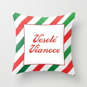 Obliečka na vankúš Veselé Vianoce I, 45x45 cm