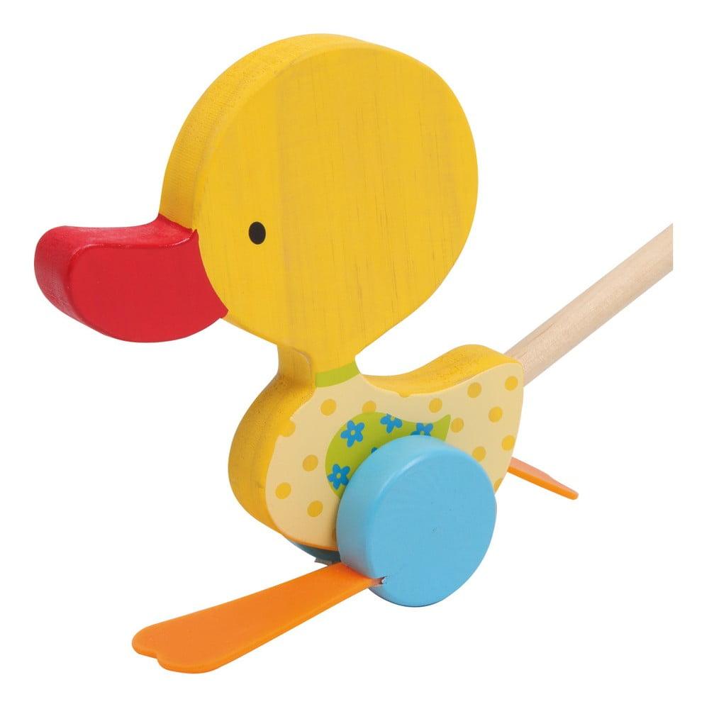 Drevená ťahacia hračka Legler Duck Tine