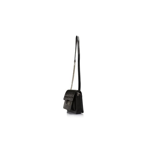 Kožená kabelka Massimo Castelli 6990 Black