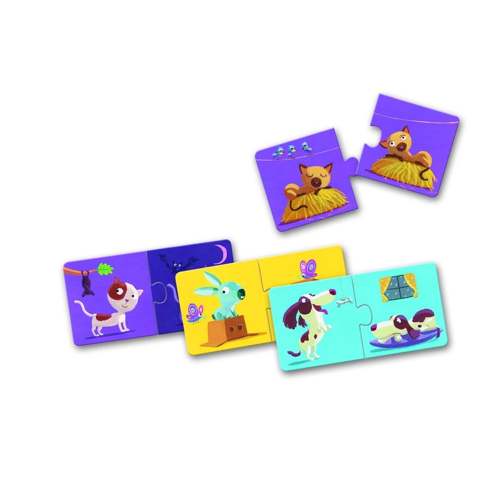 Detské puzzle Djeco Protiklady
