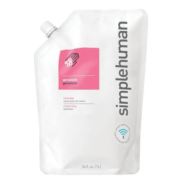 Hydratačné tekuté mydlo simplehuman  s vôňou pelargónie