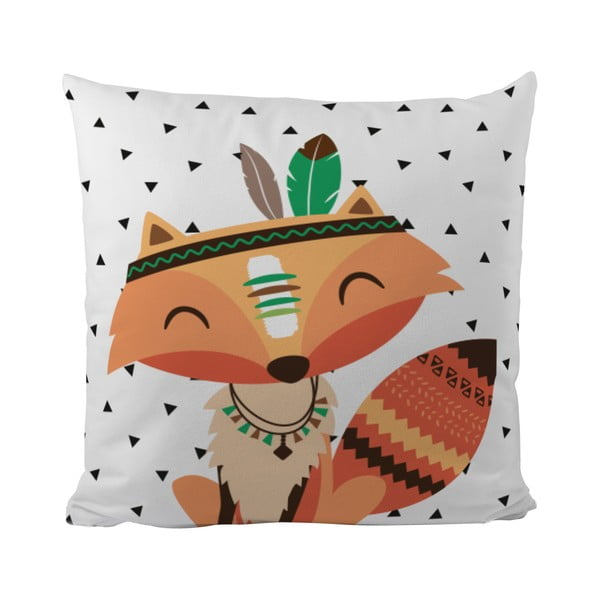Vankúš Mr. Little Fox Indian Fox, 50x50cm