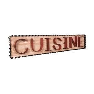 Nástenná dekorácia Antic Line Cuisine Red