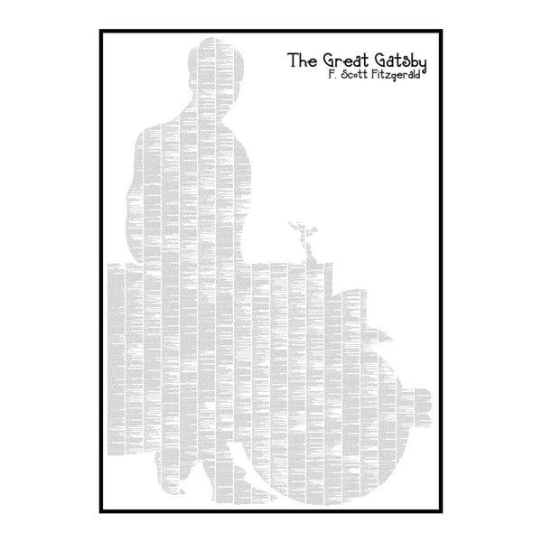 Knižný plagát Velký Gatsby, 70x100 cm