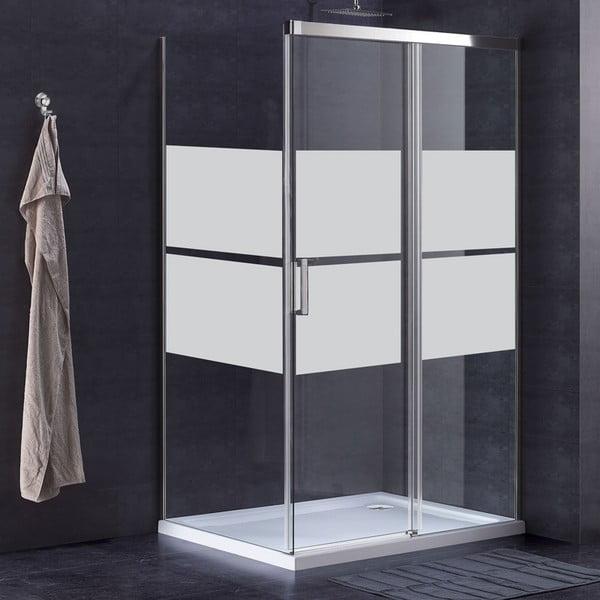 Vodoodolný samolepiaci pruh na sklenené dvere Ambiance, 100 x 55 cm