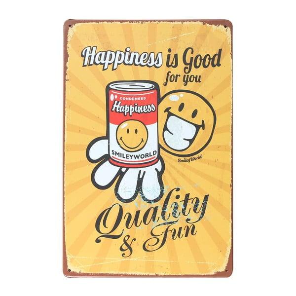 Ceduľa Qualitypot, 20x30 cm