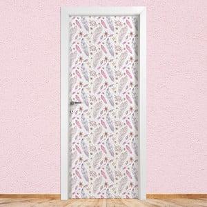 Samolepka na dvere LineArtistica Nomi Donna, 80×215 cm