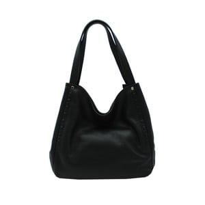 Čierna kabelka z pravej kože Andrea Cardone Kerrie 63c8205c543