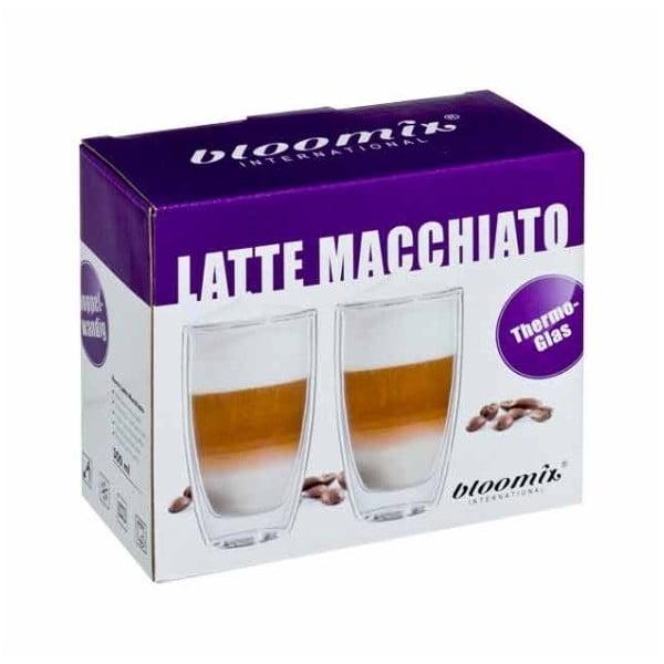 Sada 2 hrnčekov na latte macchiato bloomix Roma