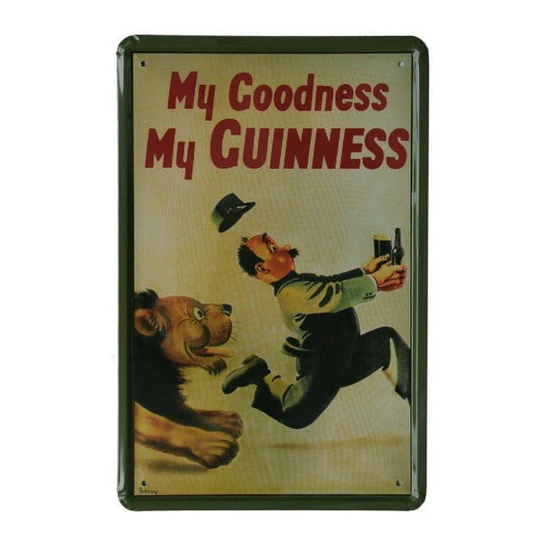 Ceduľa My Guinness, 20x30 cm