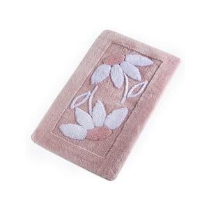 Ružová kúpeľňová predložka Confetti Bathmats Daisy Pink, 60 x 100 cm