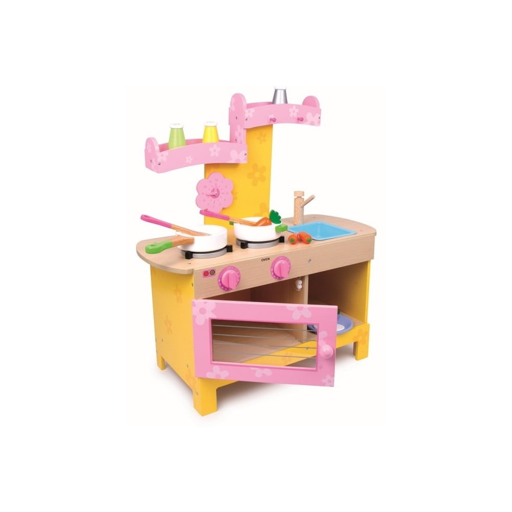 Detská drevená kuchynka na hranie Legler Nena