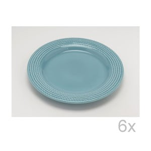 Dezertný tanier Turquoise 25 cm (6 ks)