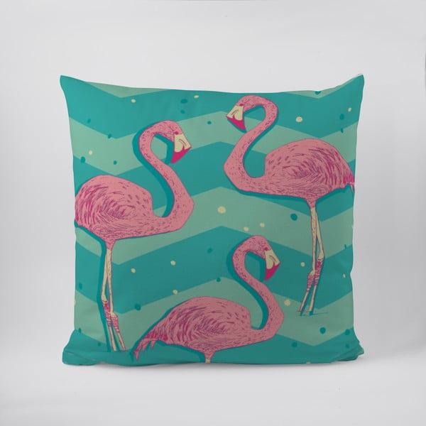 Vankúš Flamingos