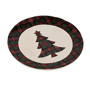 Keramický tanier Christmas Tree, 20 cm