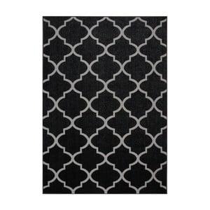 Čierny koberec Eco Rugs Ali, 120×180 cm