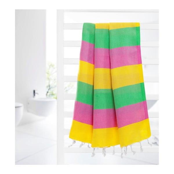 Hammam osuška Color Sunny, 95x175 cm