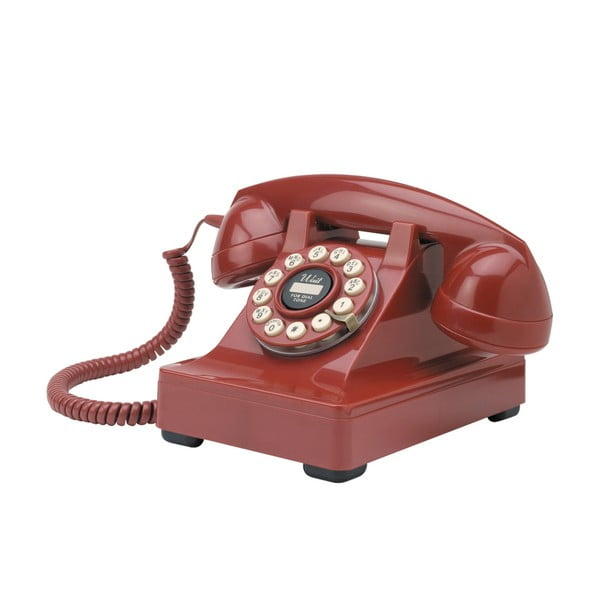Retro funkčný telefón Red Series 302