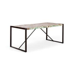 Jedálenský stôl z recyklovaného dreva SOB Quebec
