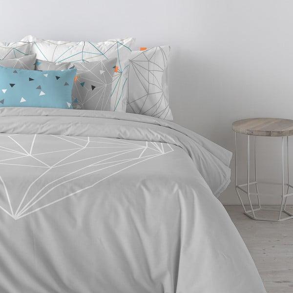 Bavlnená obliečka na paplón Blanc Heart, 200×200 cm