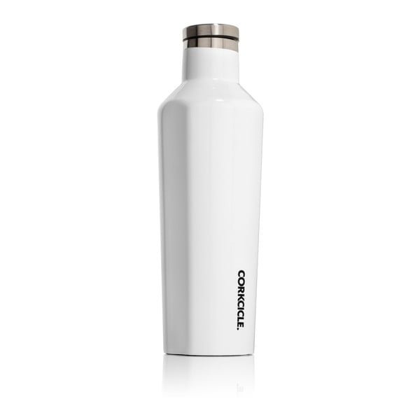 Biela termofľaša Corkcicle Canteen, 470ml