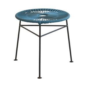 Modrý odkladací stolík OK Design Centro