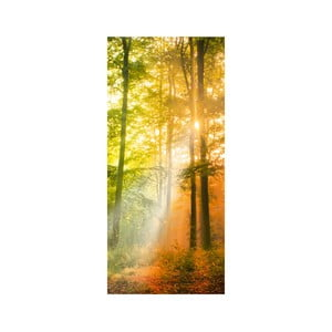 Samolepka na dvere Autumn Twilight