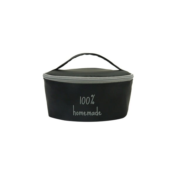 Puzdro na desiatovú krabičku Bento G Lunch Black/Grey