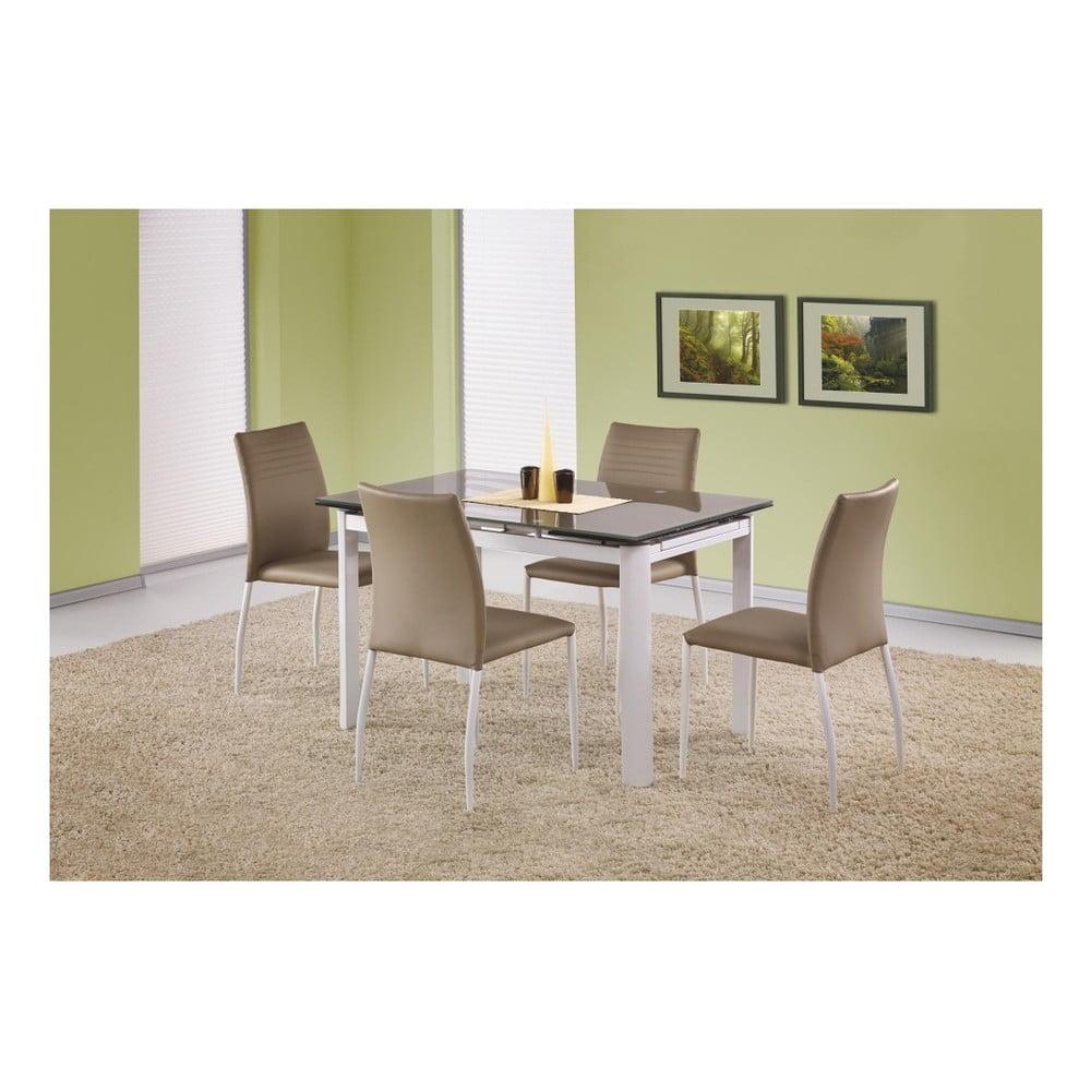Rozkladací jedálenský stôl s béžovou deskou Halmar Alston, dĺžka 120 - 180 cm