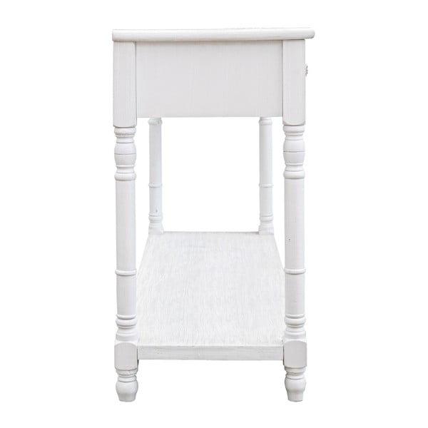 Konzolový stolík Blanc, šírka  121 cm
