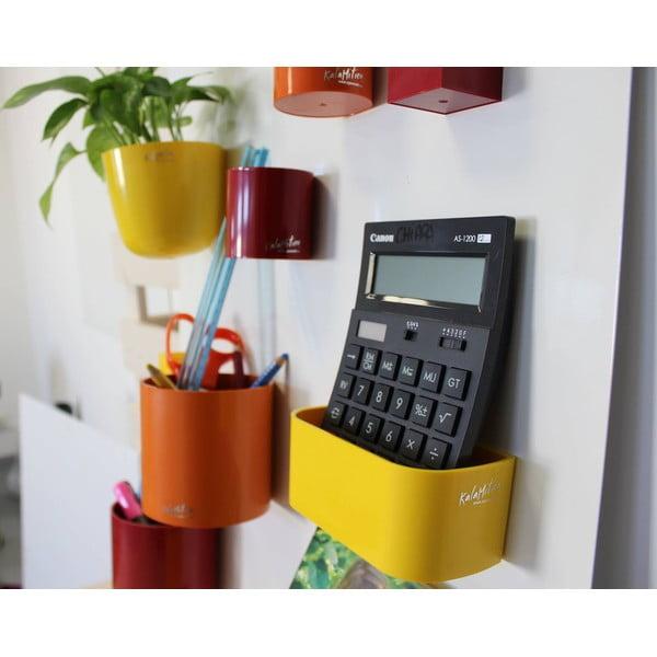 Magnetický kvetináč Bowl 16x14x16 cm, fuchsiový