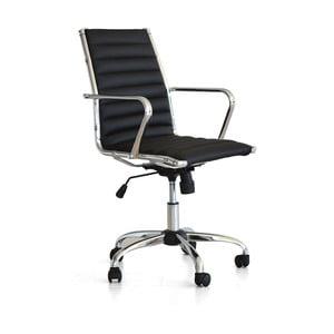Pracovná stolička na kolieskach Pandora, čierna