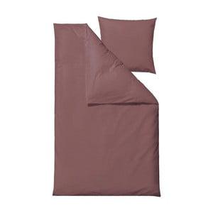 Vínovočervené obliečky Södahl Bricks, 140 x 200 cm
