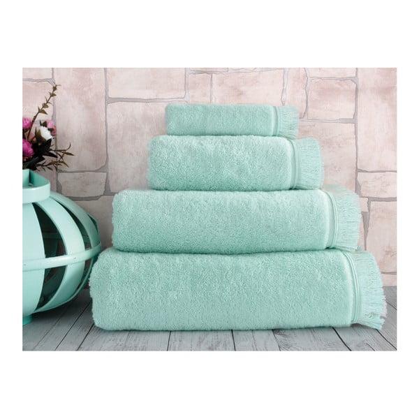 Mentolový uterák Irya Home Superior, 50x90 cm