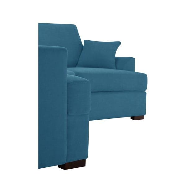 Rohová pohovka Jalouse Maison Irina, ľavý roh, modrá