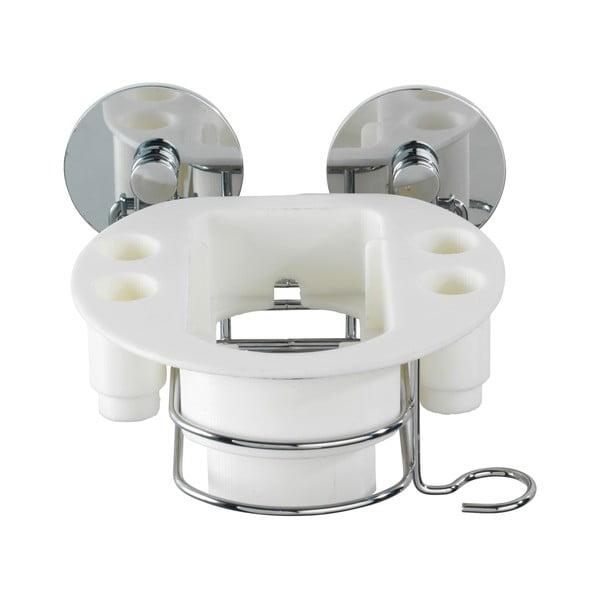 Samodržiaca polička na elektrickú zubnú kefku Wenko Turbo-Loc, až 40 kg