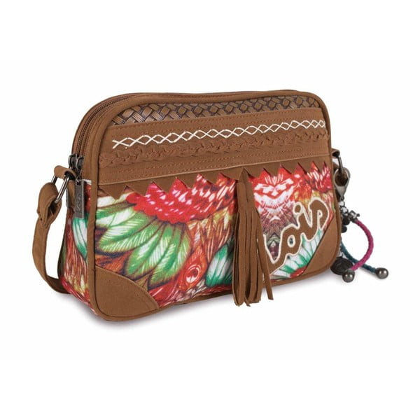 Farebná kabelka Lois, 26 x 18 cm