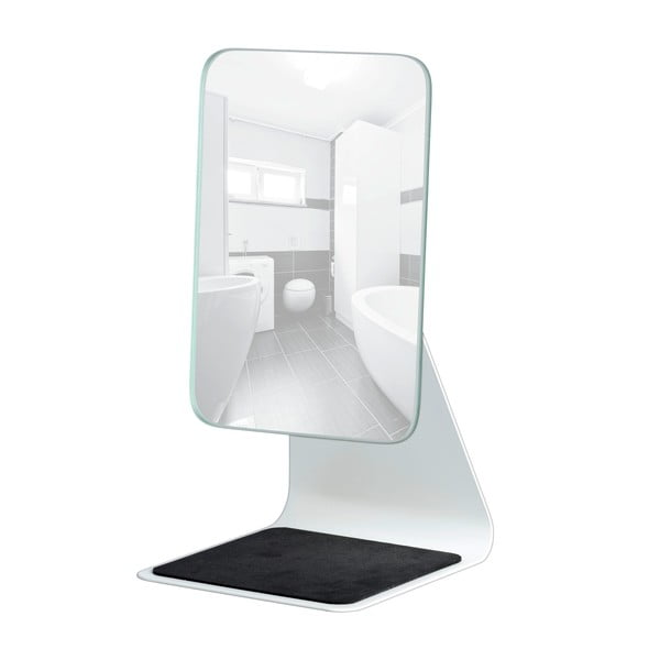 Kozmetické zrkadlo Frisa, biele