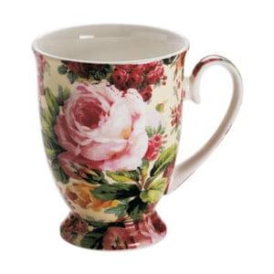 Šálka z kostného porcelánu Maxwell & Williams Royal Old England Wild Rose, 300 ml