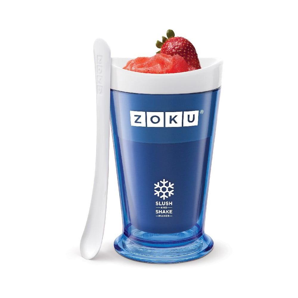 Modrá nádoba na výrobu sorbetu ZOKU Slush&Shake