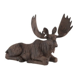 Dekorácia J-Line Moose Lying