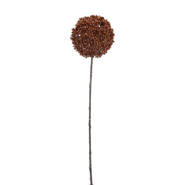 Dekorácia J-Line Onion Bulb Copper, 45 cm