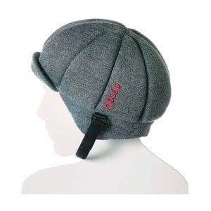 Sivá čapica s ochrannými prvkami Ribcap Jackson, veľ. L