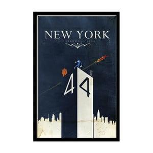 Plagát New York, 35x30 cm
