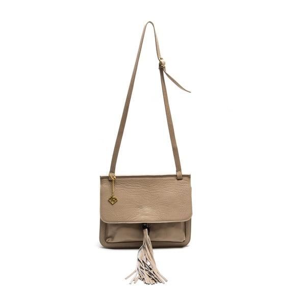 Kožená kabelka Isabella Rhea 1154, béžová