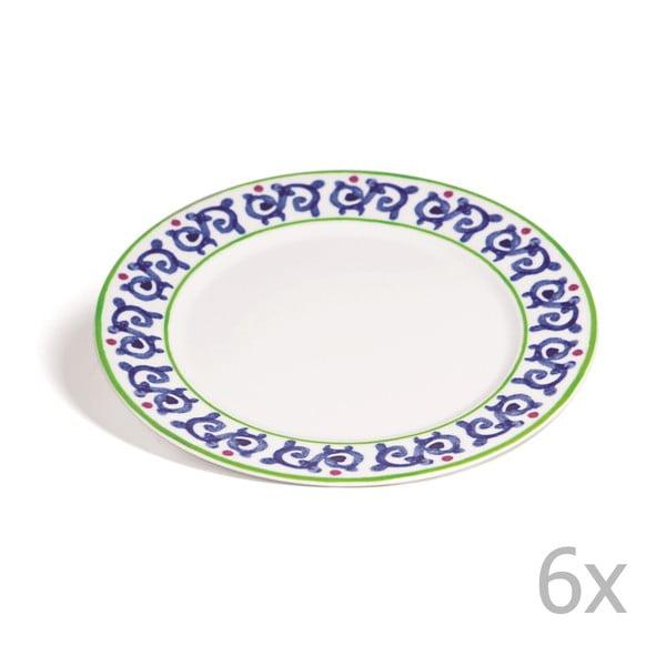 Sada 6 tanierov Toscana Gimignano, 27 cm