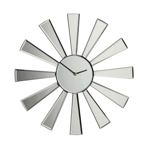 Zrkadlové hodiny Spoke, 50 cm