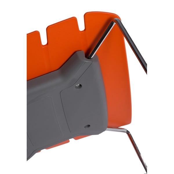 Sada 2 stoličiek D2 Techno, oranžové