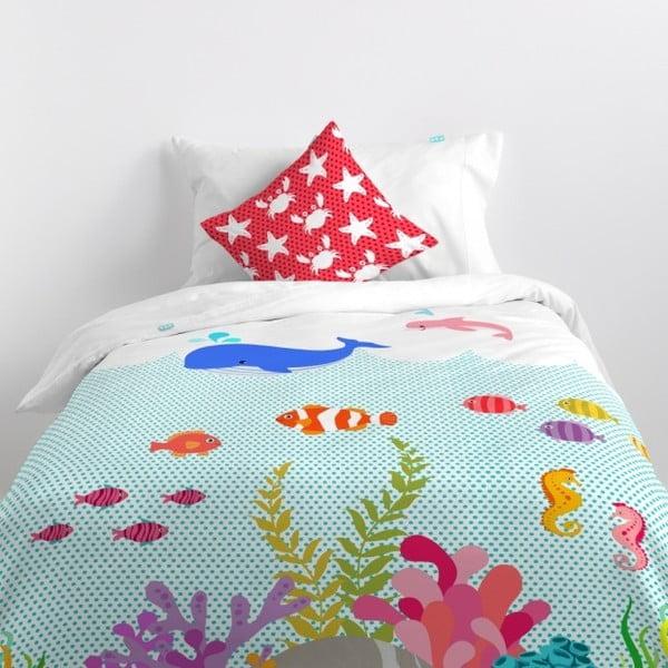 Obliečky Little W Under Sea, 140×200cm