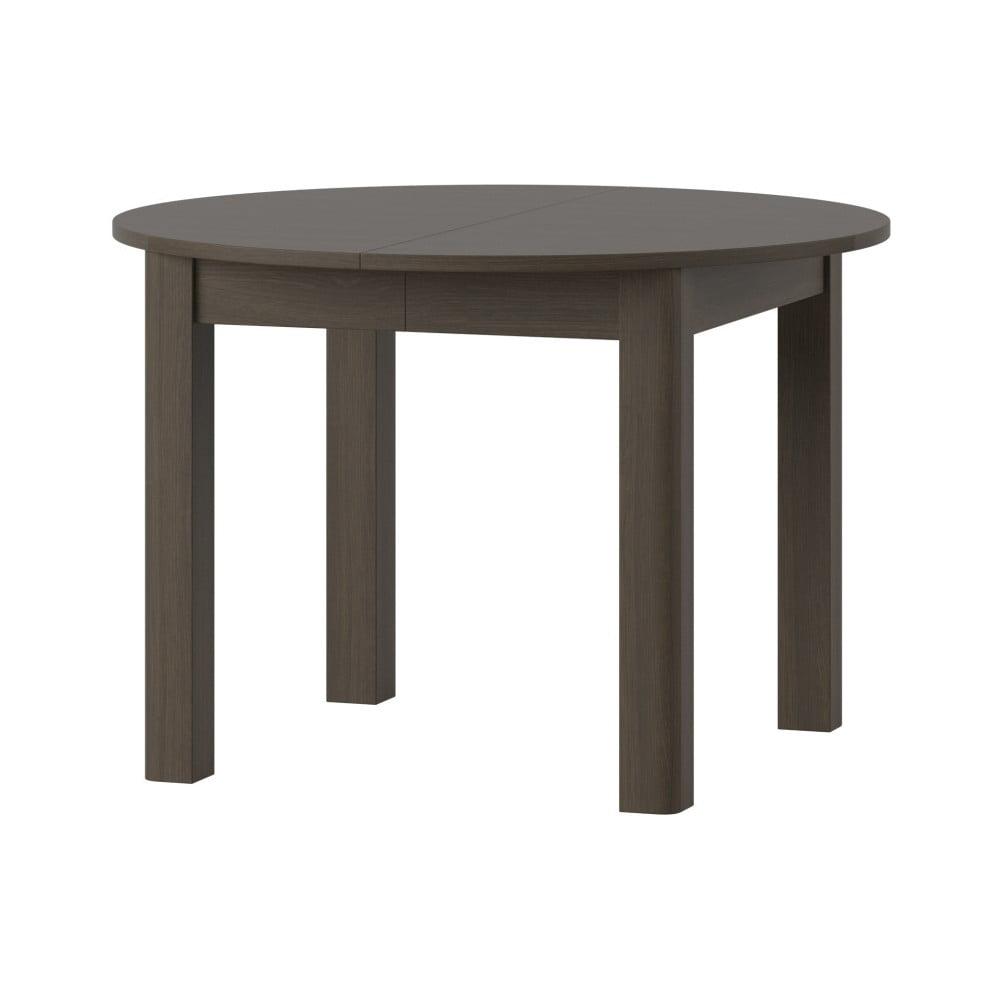 Rozkladací jedálenský stôl v tmavom drevenom dekore Szynaka Meble Uran